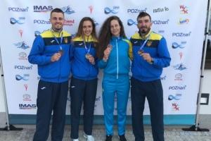Украинские гребцы выиграли три медали на этапе Кубка мира