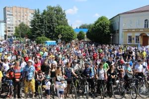 Велодень у Житомирі зібрав понад три тисячі учасників