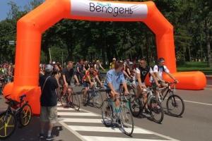 Велодень у Чернігові: наймолодшому учаснику - 2,5 роки, найстаршому - 71
