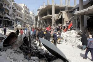 Армія Асада застосувала фосфорні бомби у сирійському Ідлібі