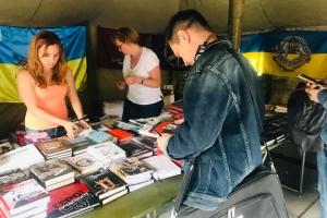 «Ветеранський намет» став лідером продажів на Книжковому Арсеналі