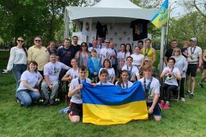 Українці взяли участь у забігу в Чикаго, вшановуючи загиблих на Донбасі воїнів