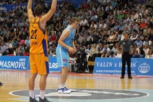 Український баскетболіст Пустовий зіграє в плей-офф чемпіонату Іспанії