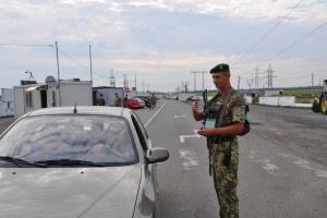 В пунктах пропуска на Донбассе в очередях застряли 240 авто