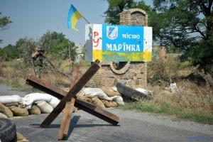 Artilleriebeschuss von Armeestellungen nahe Marjinka dauerte 40 Minuten – Verteidigungsministerium