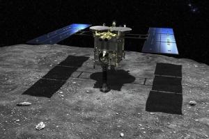 Зонд «Хаябуса-2» готовий відправити проби з астероїда Рюгу