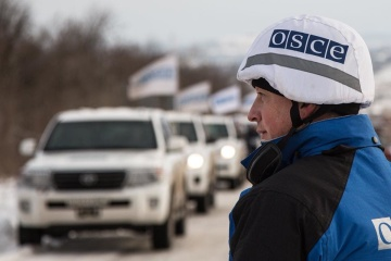 OSCE SMM records 162 ceasefire violations in Donbas