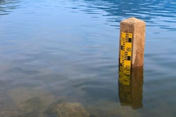 En Ukraine, le niveau d'eau des rivières a atteint son niveau le bas depuis 100 ans