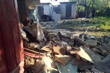 Les mercenaires russes ont pilonné Maryinka : six bâtiments endommagés (photos)