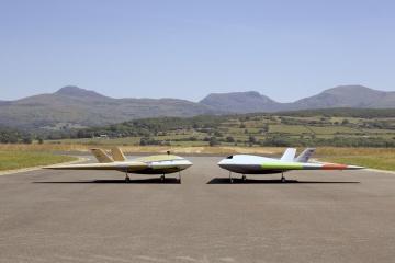 У Британії випробували модель першого у світі літака без закрилків
