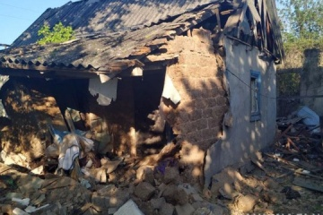 Militantes prorrusos bombardean Mariinka (Fotos)