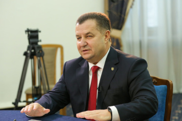 Poltorak surprised at Kolomoisky's statement about 'civil war' in Donbas