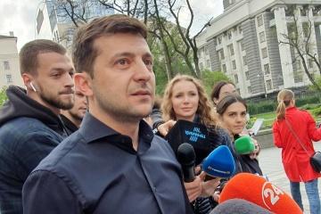 Zelensky y Pinchuk discuten temas de negocios en Ucrania
