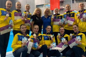Ukraińskie sportsmenki zdobyły dwa medale w etapie World Series w synchronicznym pływaniu