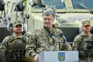 Poroshenko says he spent UAH 2 bln in his own funds on Ukrainian army