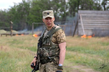 Ukrainian president appoints new Joint Forces commander