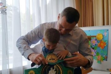 Klitschko: La lucha por el bienestar de las personas es mucho más difícil que la pelea por el título de campeón mundial