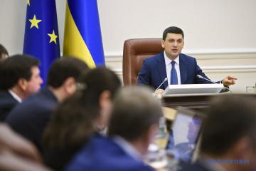Volodymyr Hroisman: 43% des exportations ukrainiennes vont aux pays de l'UE