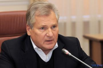Ex-président polonais Kwasniewski: L'adhésion de l'Ukraine à l'UE est une perspective à court terme