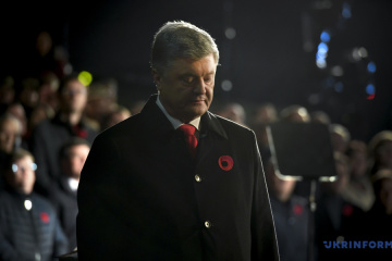 Poroshenko: Almost 10 million Ukrainians killed in World War II