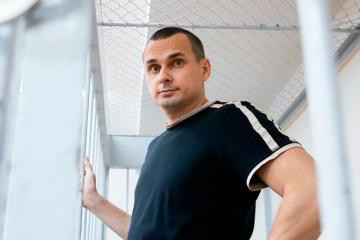 Aujourd'hui, c' est le cinquième anniversaire de l'arrestation de Sentsov