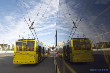 Second batch of Belarusian trolleybuses arrives in Zhytomyr