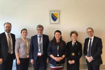 Ukraine's finance minister meets with key partners in Sarajevo