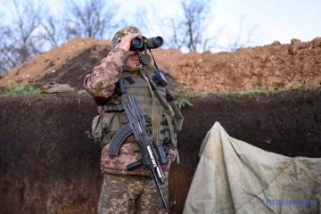 Zwei ukrainische Soldaten im Donbass verletzt