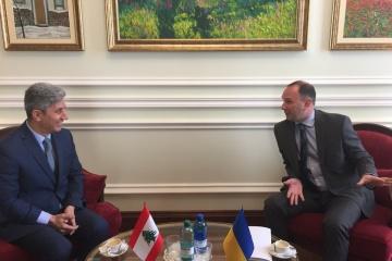 Ukraine und Libanon einigen sich auf Beschleunigung der Zusammenarbeit in verschiedenen Bereichen