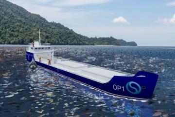 Les Ukrainiens ont développé une usine de traitement des déchets flottants pour nettoyer l'océan