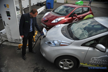 Ukrainian market of electric vehicles rose by 1% in Jan-Oct 2020