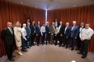 Zelensky trata con los banqueros la independencia del Banco Nacional y la cooperación con el FMI