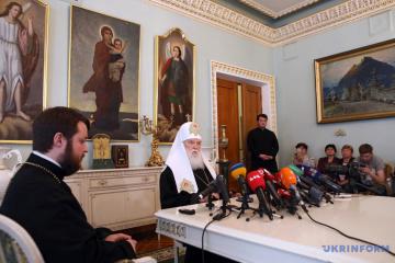 Filaret kritisiert Metropoliten Epifanij und will Kyjiwer Patriarchat wiederbeleben