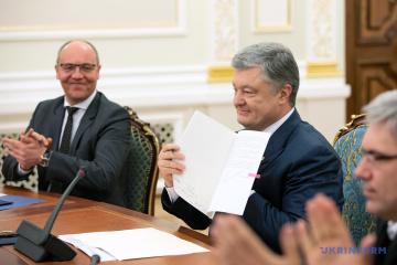 Petro Porochenko a signé la loi sur le statut de la langue ukrainienne