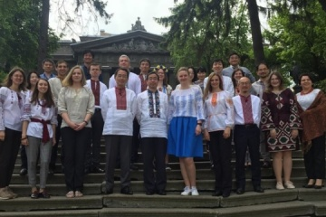 Embassy of Japan congratulates Ukrainians on Vyshyvanka Day