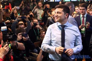 Selenskyj kommentiert die gestern im Parlament gescheiterte Gesetzesvorlage über Wahlen