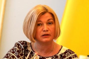 Iryna Heraschtschenko verlässt Ukraine-Kontaktgruppe