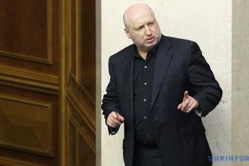 NSDC Secretary Turchynov resigns