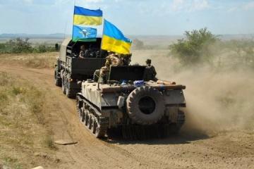 Okupanci strzelali z systemów artyleryjskich kalibru 122 mm – jeden żołnierz jest ranny