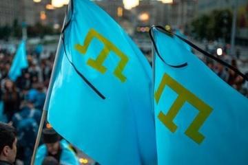 Polscy dziennikarze zorganizowali flash mob na rzecz Tatarów krymskich