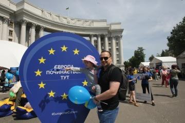 Ukraine feiert am 18. Mai Europatag