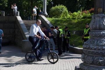 Klitschko to open pedestrian bridge in Kyiv on May 25
