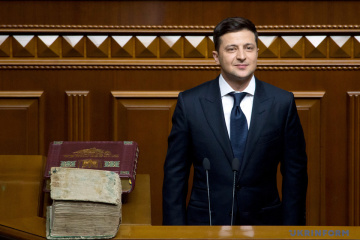 Zelensky gives VR two months to dismiss SBU head, defense minister and prosecutor general