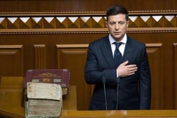 ゼレンシキー新大統領、最高会議の重要決定採択に「2か月間与える」と発言
