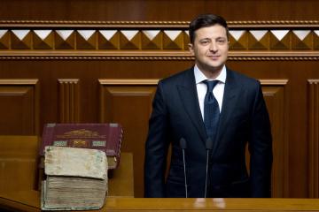 ゼレンシキー新大統領、国外に住むウクライナ人に対し、「私たちは6500万人いる。故郷へ帰ってきて欲しい」