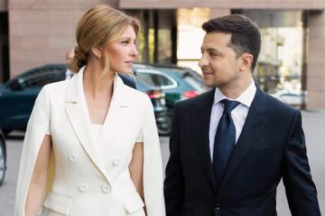 新ファーストレディー、オレーナ・ゼレンシカ大統領夫人が選んだのは、ウクライナ・ブランドの服