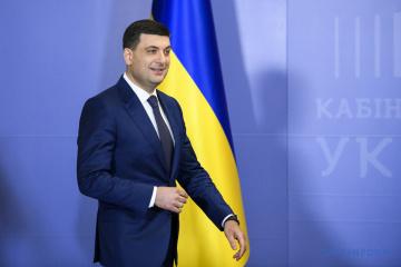 Regierungschef Hrojsman schließt Wahlbündnis mit Partei von Ex-Präsidenten Poroschenko aus