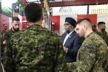 Harjit Singh Sajjan : indéfectible soutien du Canada à l'Ukraine