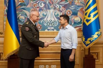 Volodymyr Zelensky a remplacé le chef du quartier général des Forces armées de l'Ukraine