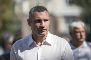 Klitschko will wieder für Bürgermeisteramt kandidieren
